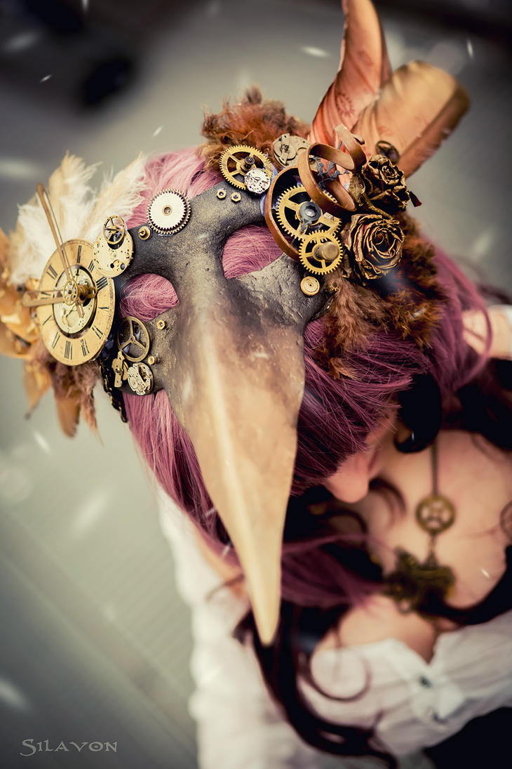 Steampunk Mask by DeZzibELl