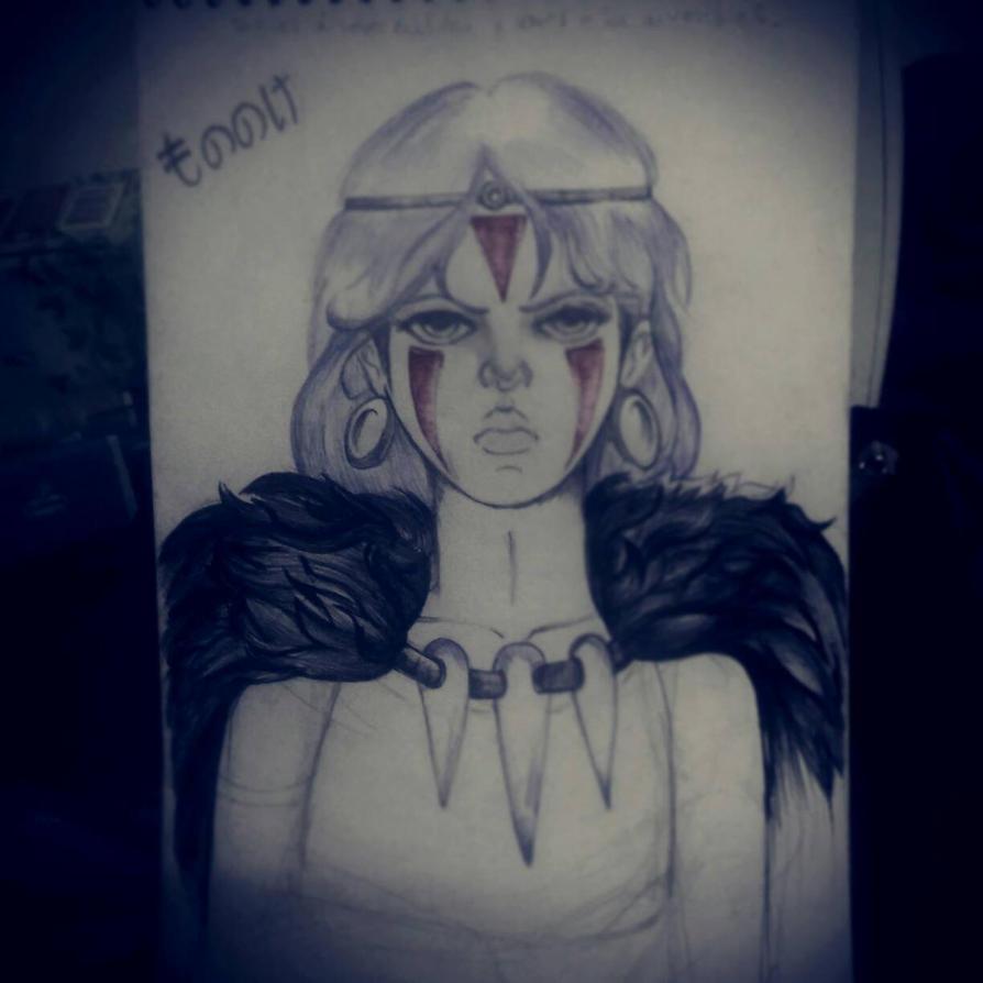 Mononoke:Don't dare you... by Beloved-Star