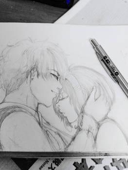 Sakura+Syaoran:Just relax