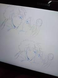 Seiya+Usagi:Besos Robados