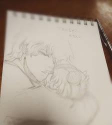 Seiya+Usagi: Take me with you