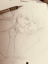Seiya+Usagi:sketch_05_03_2019