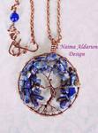 Tree of life Lapis lazuli by NaimaAldarion