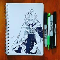 Inktober23:Juicy by j-kyuu