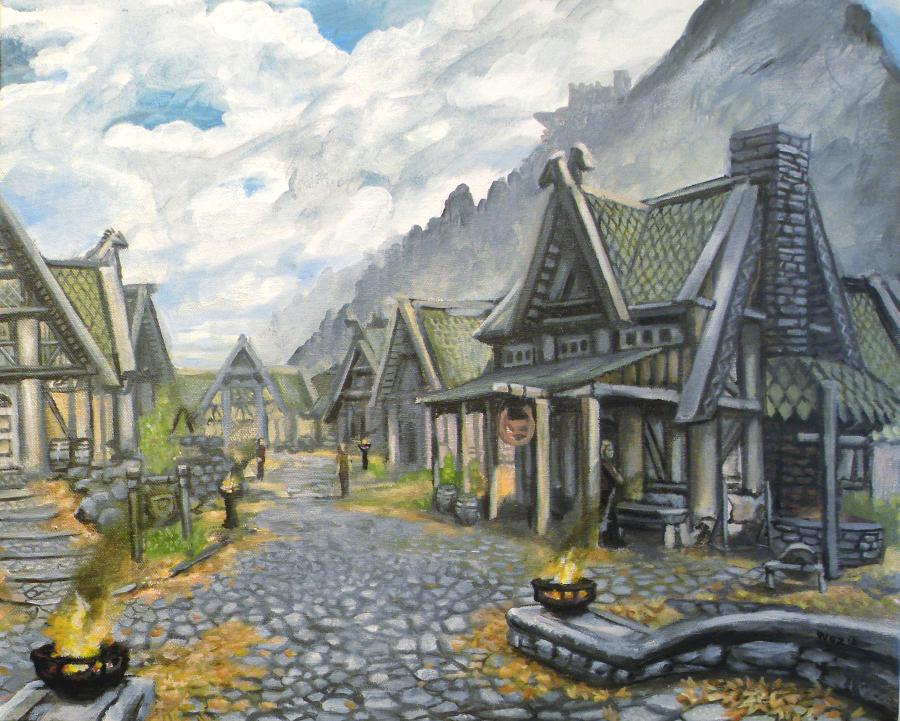 Whiterun, Province of Skyrim by SoulRebel9 on DeviantArt