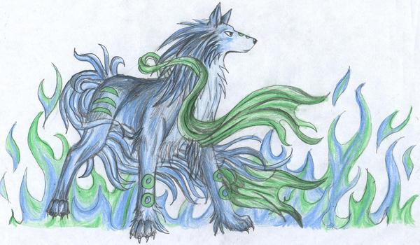 fantasy wolfie by fantasi-dragen