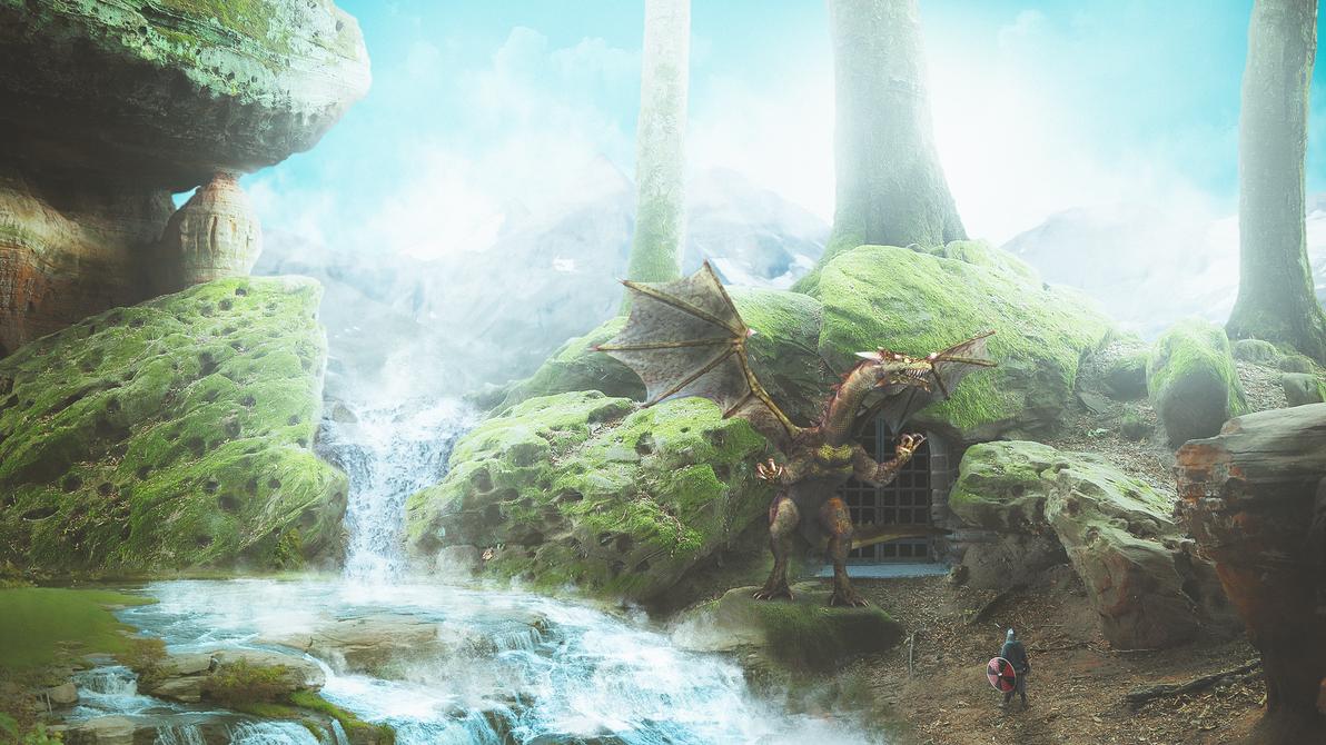 Dragoncave by aspiro87