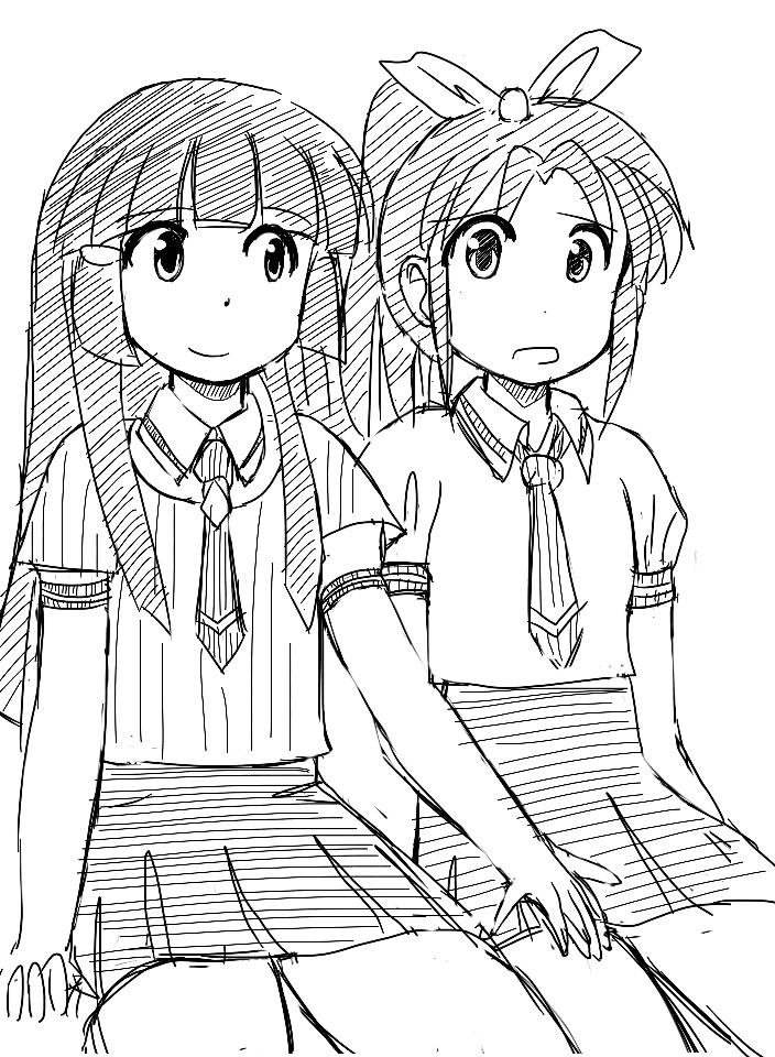 Reika-san and Nao-san