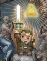 Zelda 8Bit - Link by jimiyo