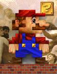 Mario 8bit - Print Upload