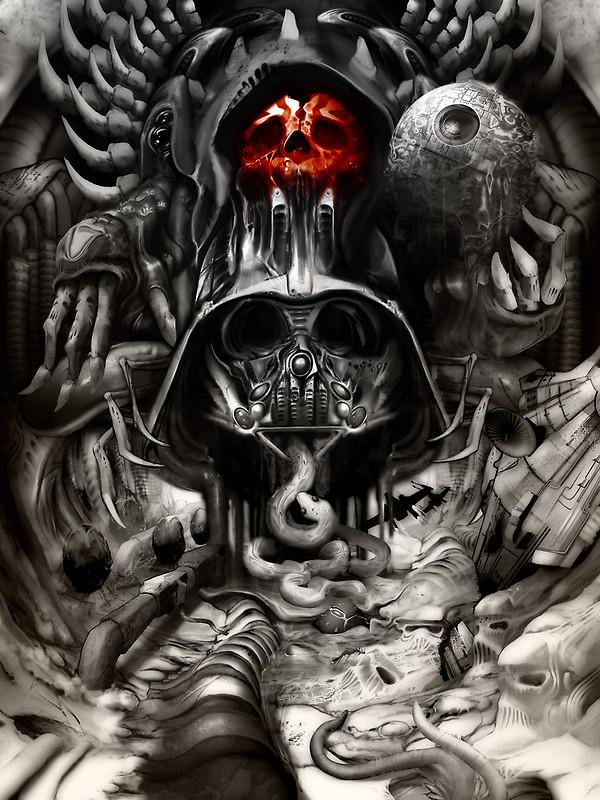 Giger Vader By Jimiyo On Deviantart