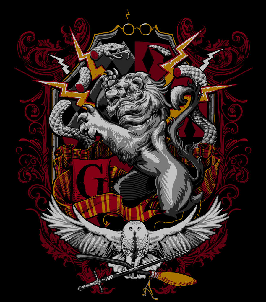 an analysis of the painting of the gryffindor crest Summary image from harrypotterwallartcom licensing: this file has been  released into the public domain by the copyright holder, its copyright has expired, .