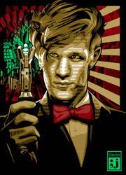 Matt Smith of Dr Who by jimiyo