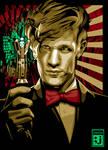 Matt Smith of Dr Who