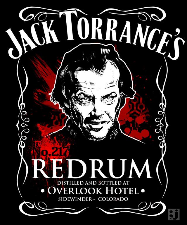 Jack Torrance RedRum No 217 by jimiyo