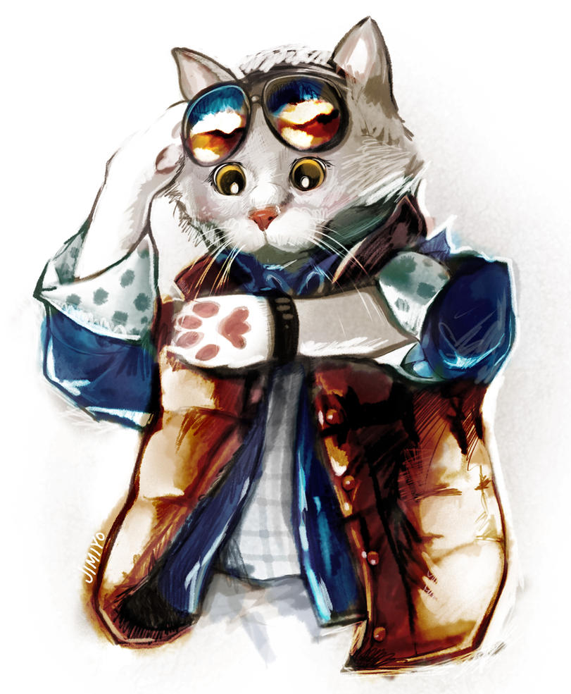 Marty McCat by jimiyo