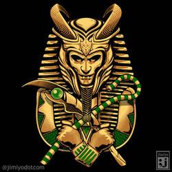 King Loki Tut by jimiyo