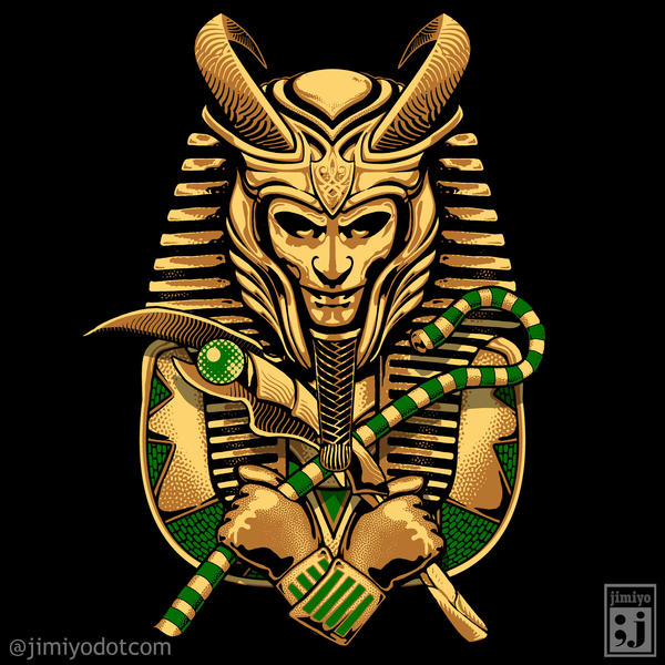 King Loki Tut by jimiyo