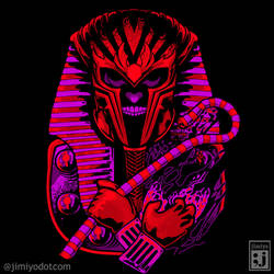 King Magneto Tut by jimiyo