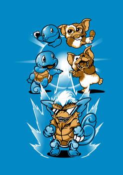 Mogwai Squirtle Fusion
