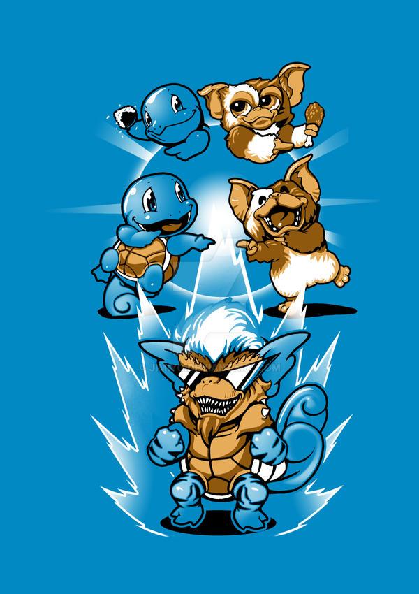 Mogwai Squirtle Fusion by jimiyo