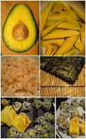 sushi, tentativi di by alecarote