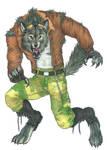 Beware the Biker Werewolf