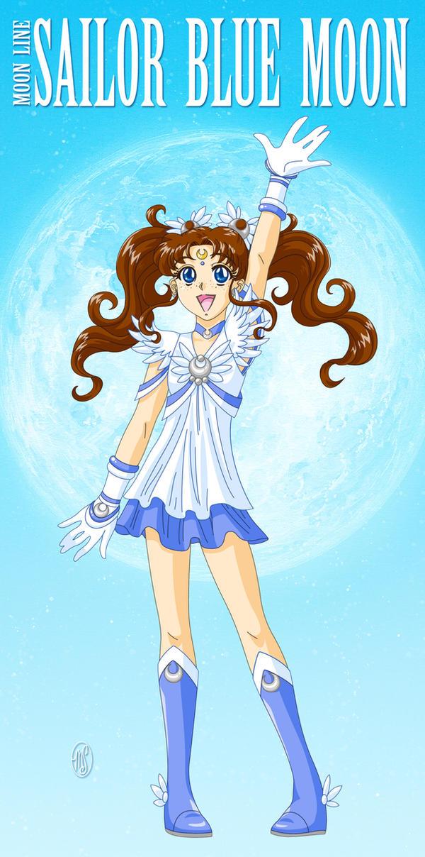Sailor Blue Moon by ArtistMeli