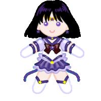 Eternal Sailor Saturn Doll by ArtistMeli