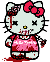 Hello Zombie by ArtistMeli