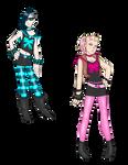 Sailors Cyan and Magenta