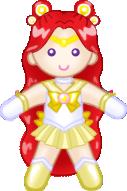 Sailor Forgiven Moon Doll by ArtistMeli