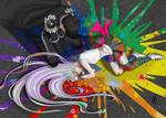 Colors Bleed by ArtistMeli