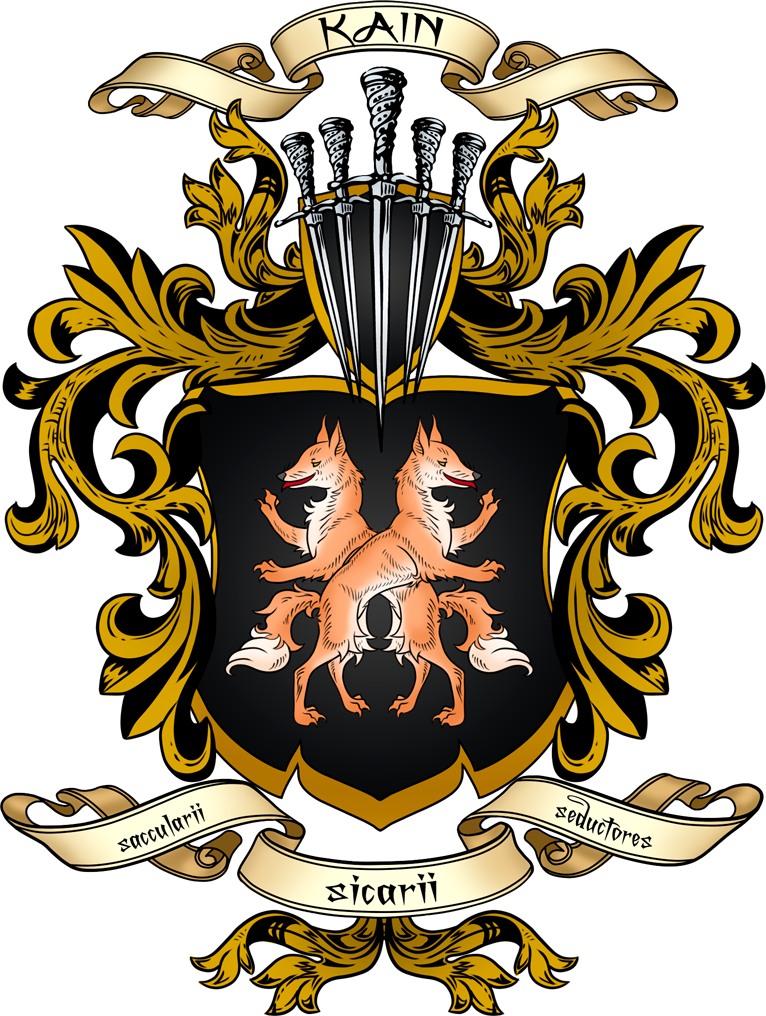 The Kain Coat of Arms by ArtistMeli on DeviantArt