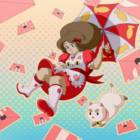 Bee and Puppycat by ArtistMeli