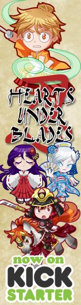 Hearts Under Blades Kickstarter Ad by ArtistMeli
