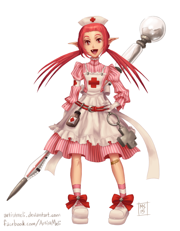 Dungeon Fighter FMage Nurse by ArtistMeli