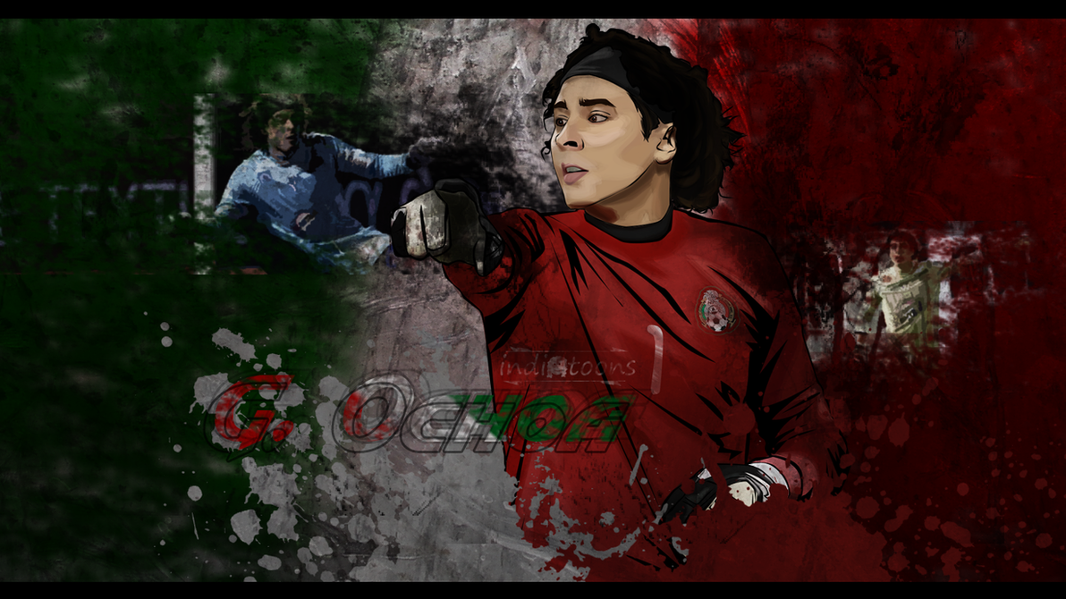 Guillermo ochoa wall by indiotoons on deviantart - Guillermo ochoa wallpaper ...