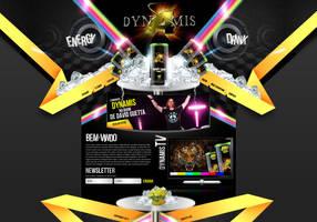 Dynamis Energy Drink by thdweb