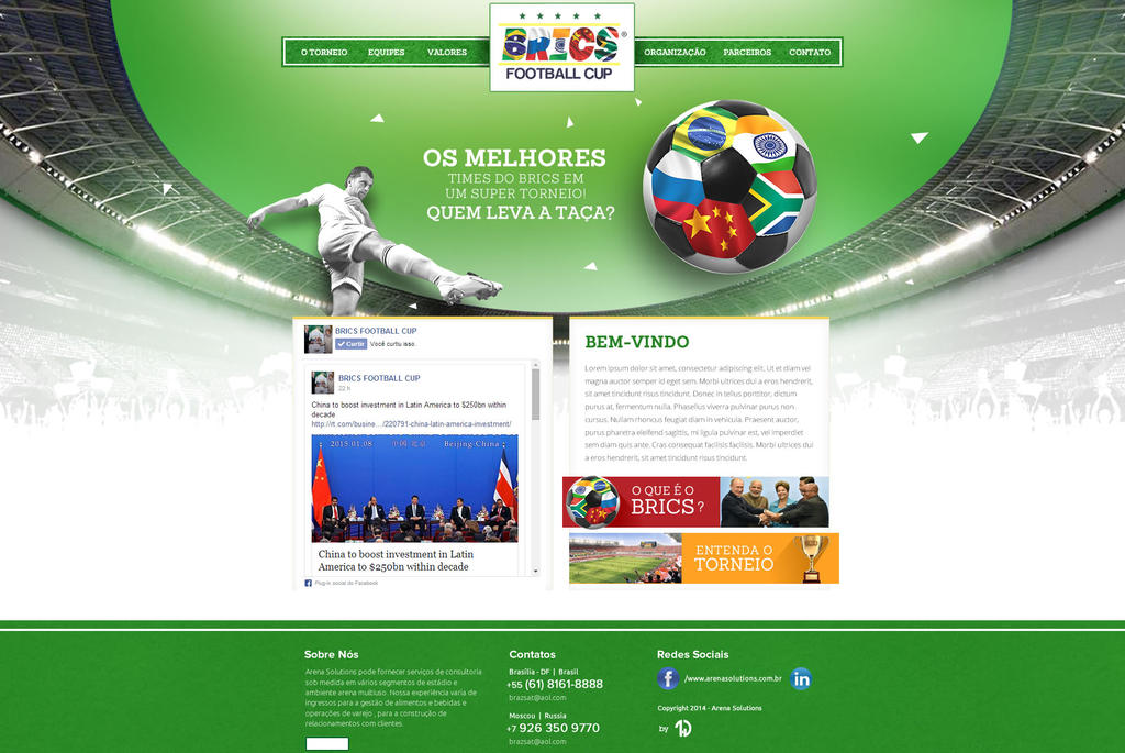 BRICS Football Cup by thdweb