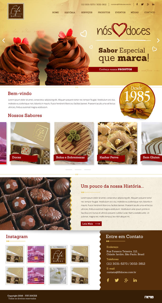 Fifi Doces by thdweb