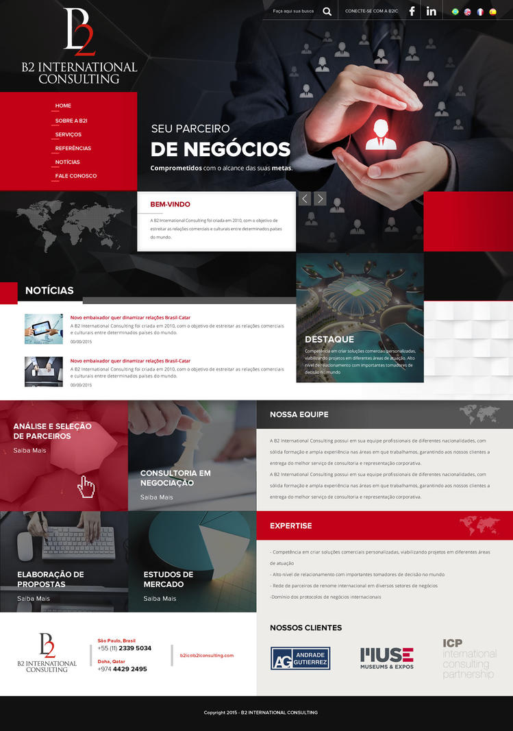 B2 International Consulting by thdweb