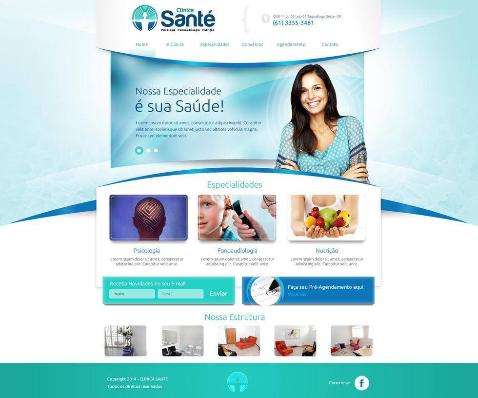 Clinica Sante by thdweb