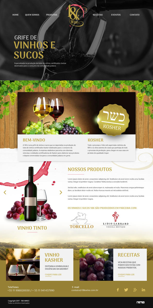 18k Wines by thdweb