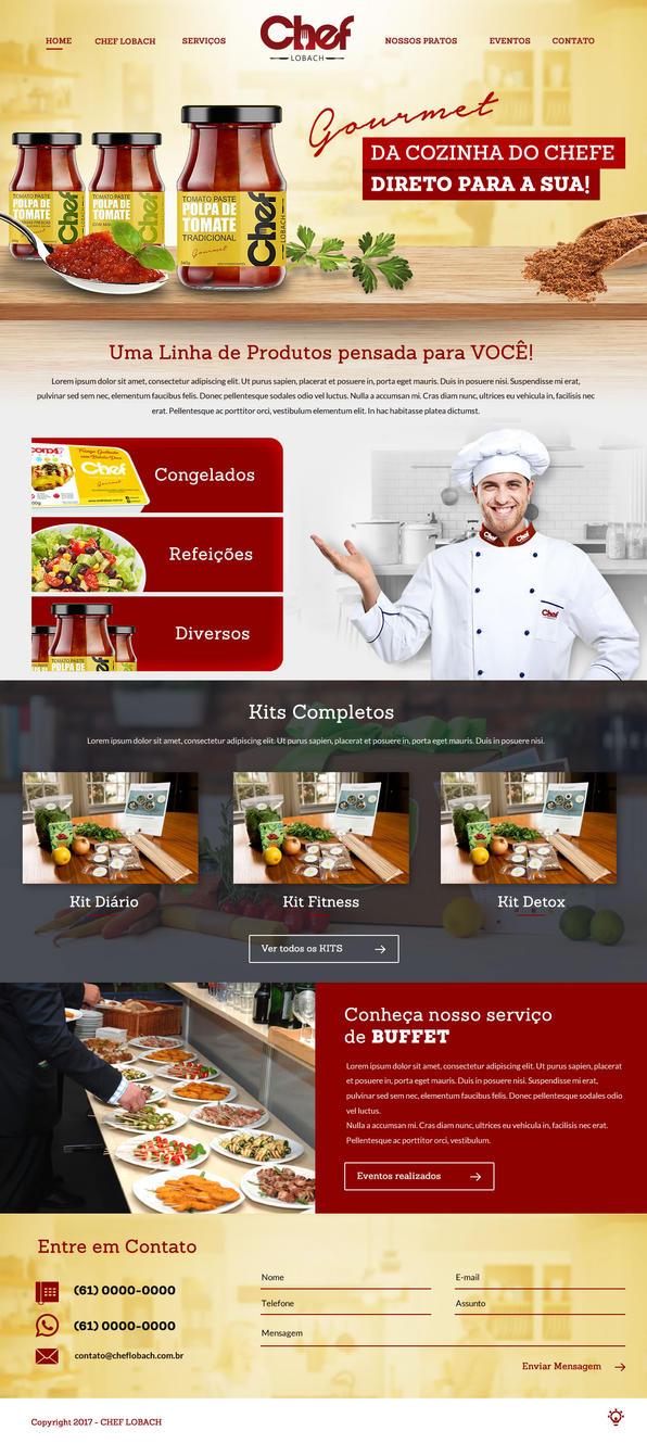 Chef Lobach by thdweb