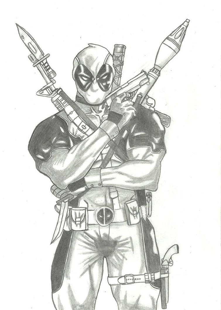 Deadpool 2 By Homefront5 On DeviantArt