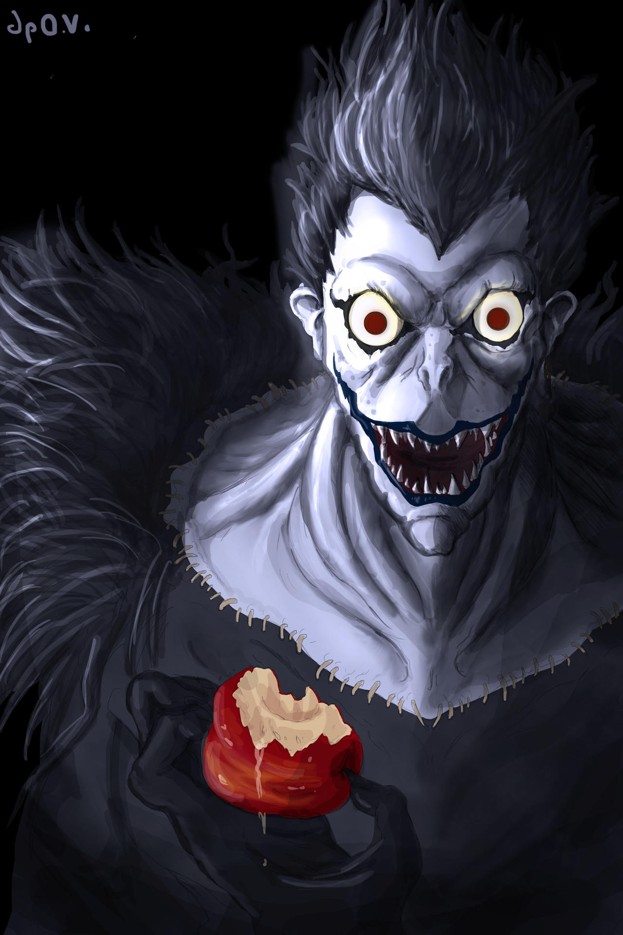 Ryuk- Death Note by TopHatTruffles on deviantART
