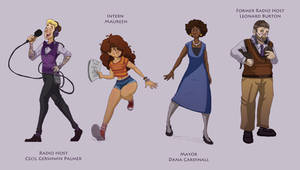 Night Vale Characters I