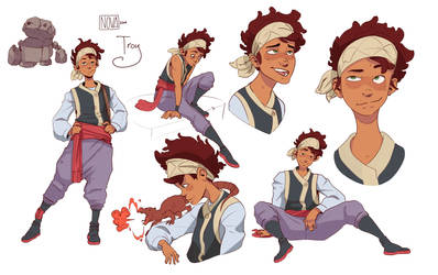 Troy Character Sheet by VincenzoNova