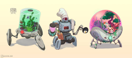 House Robots by VincenzoNova